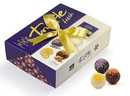 Elite truffles in box